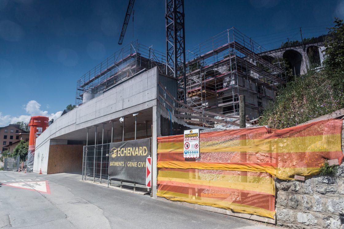 Foyer de l'Entraide - En construction